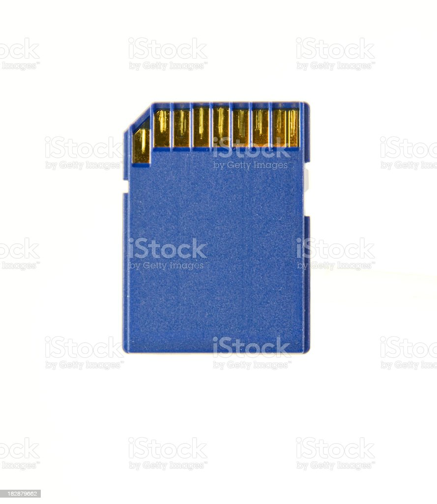 Secure Digital Memory Card royalty-free stock photo