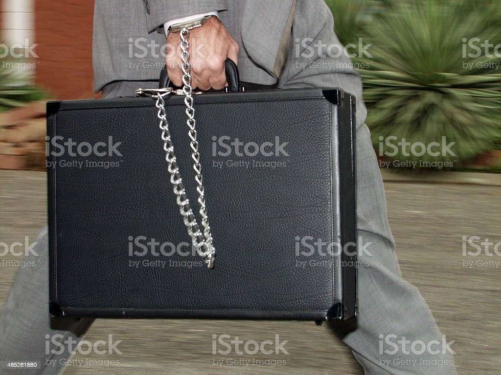 Secure documents stock photo