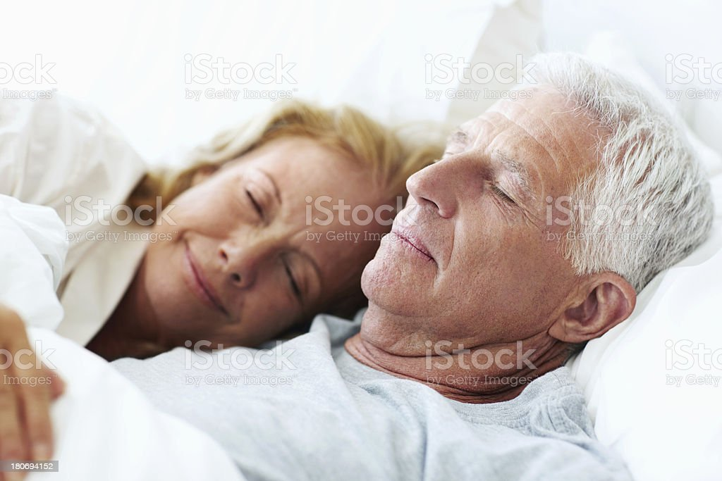Secure in each other's arms stock photo