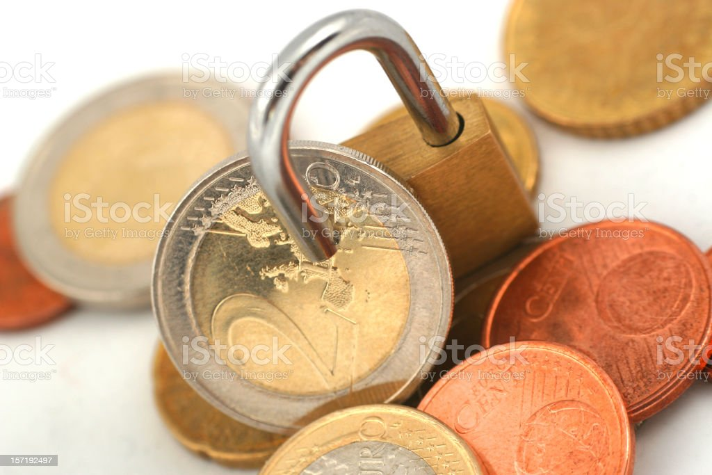 Secure investment royalty-free stock photo