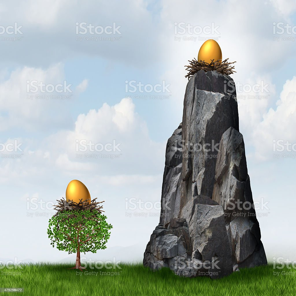 Secure Investment stock photo