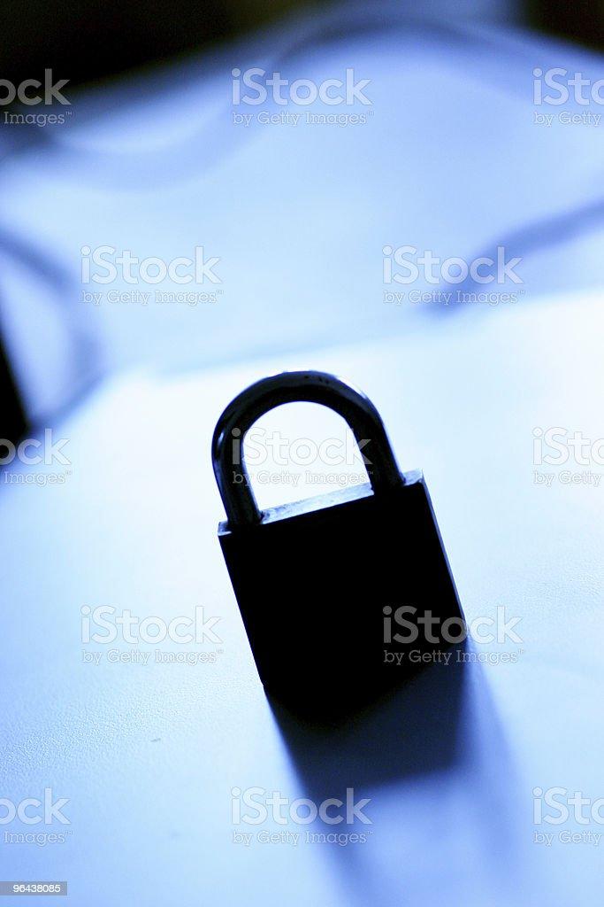 Sombra trava de segurança - Foto de stock de Caderno de Anotação royalty-free