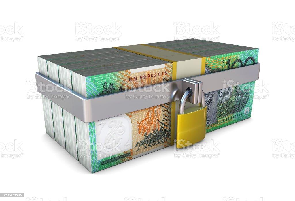 Secure Money stock photo