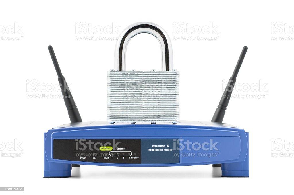 Sicheres W-LAN-Netzwerk – Foto