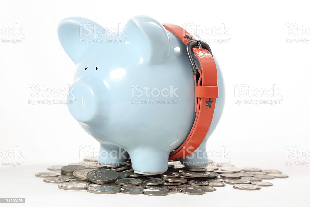 Secure your savings stock photo
