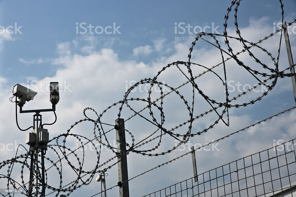 Secure Zone stock photo