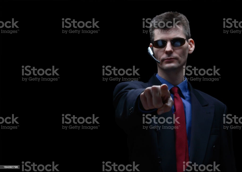 Security Agent royalty-free stock photo