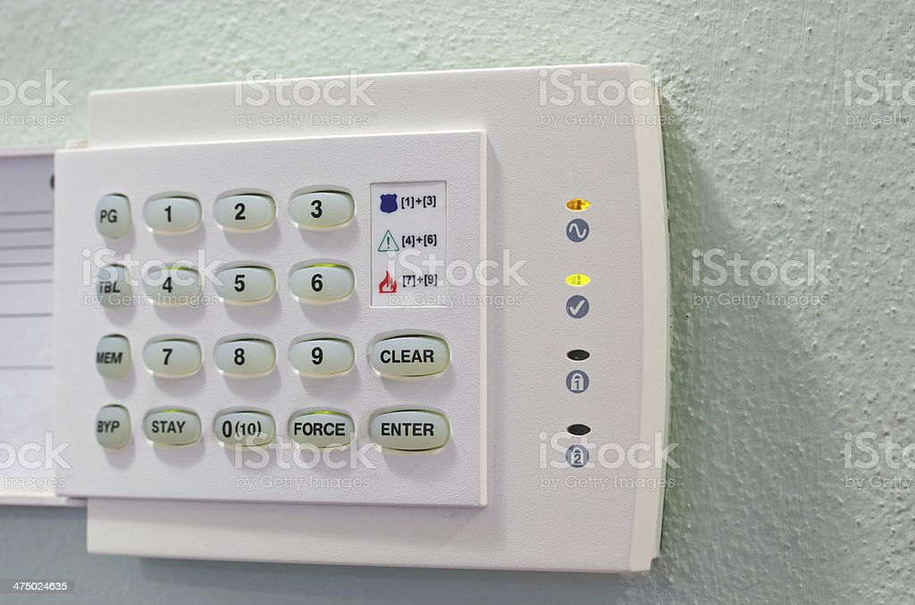 Security Appliances keyboard stock photo