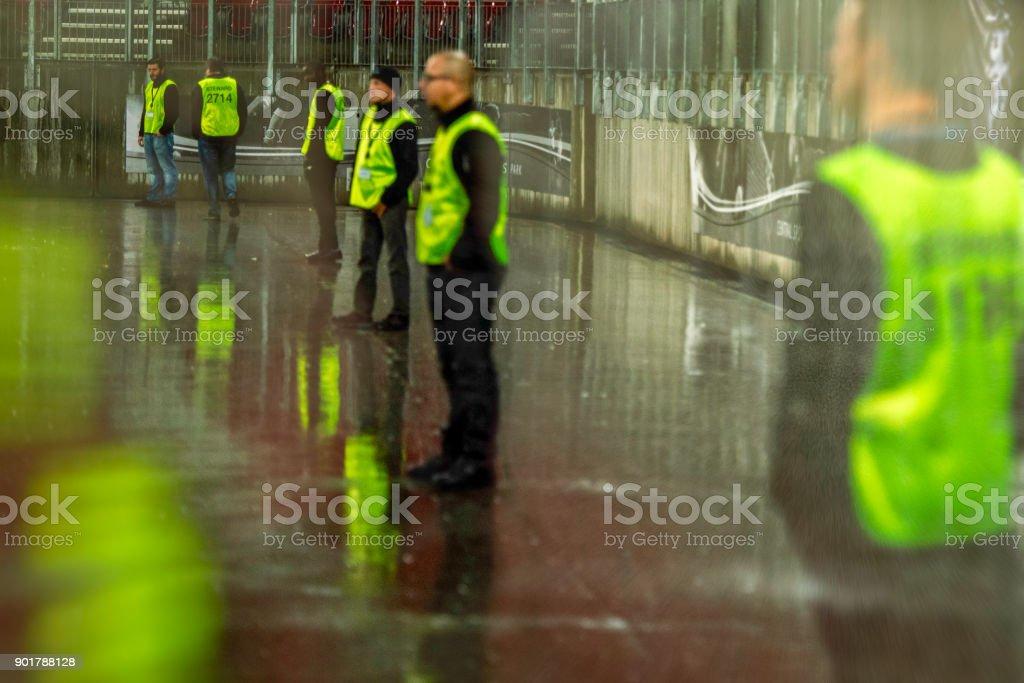 Sicherheit bei einer Sportveranstaltung – Foto