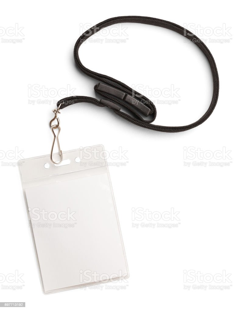 Security Badge Full stock photo