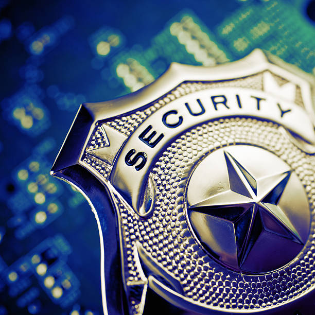 security badge Conceptual image for security. security pass stock pictures, royalty-free photos & images