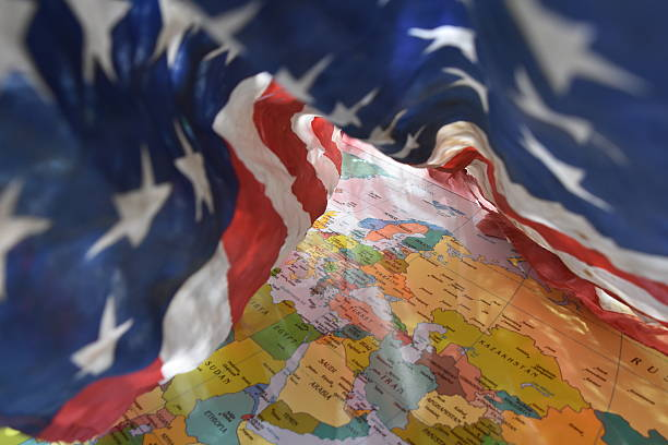 Security blanket the United States is for the world – Foto