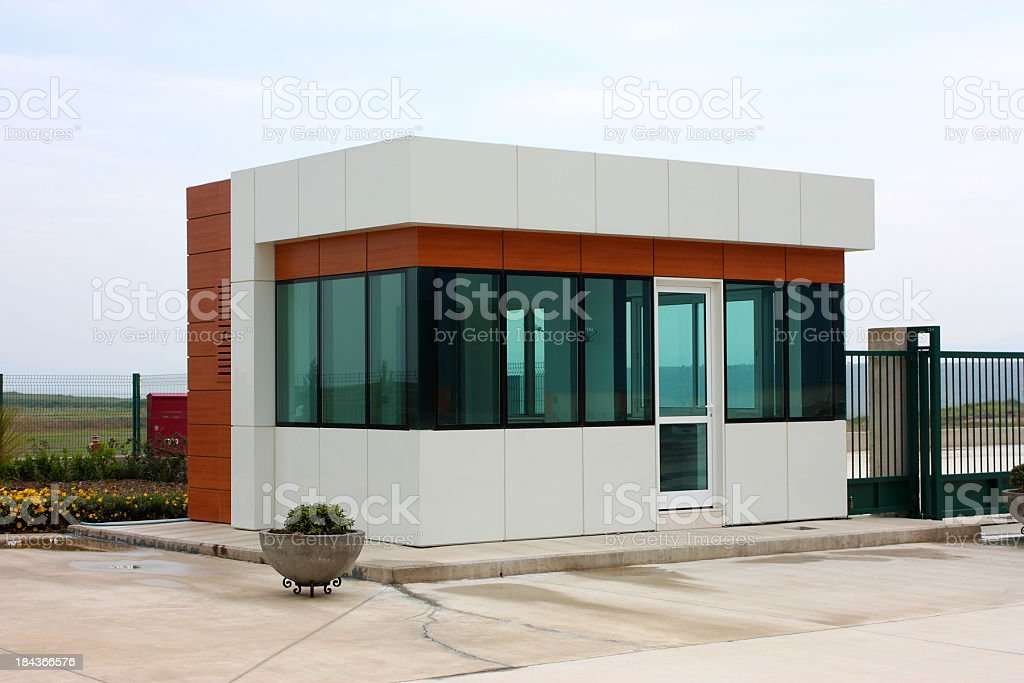 Security Building royalty-free stock photo