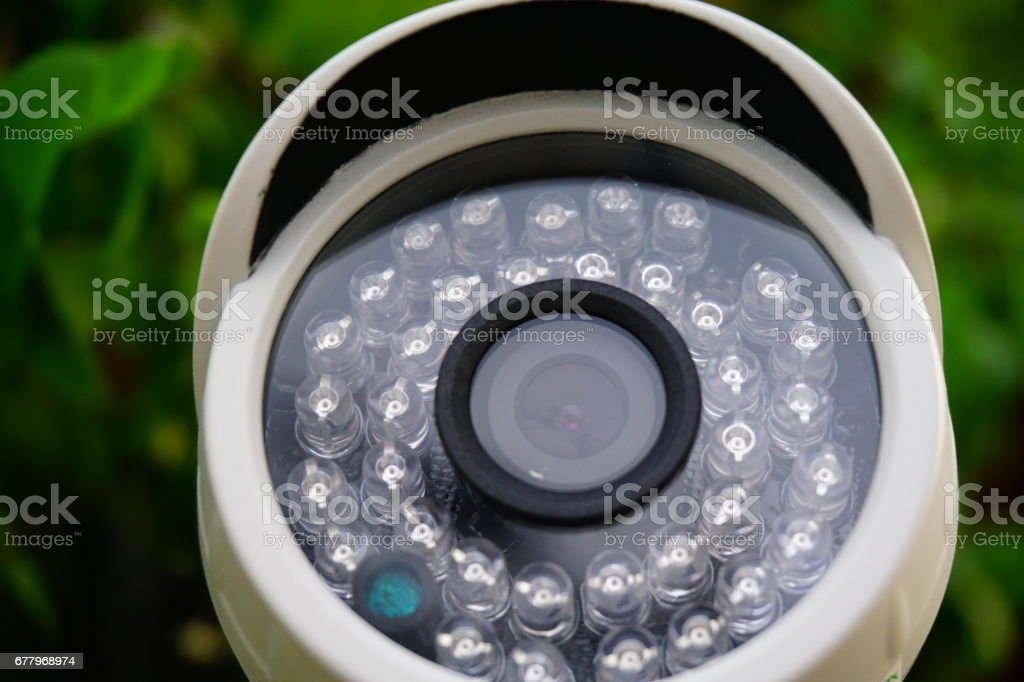 CCTV Security Camera 2 megapixel royalty-free stock photo