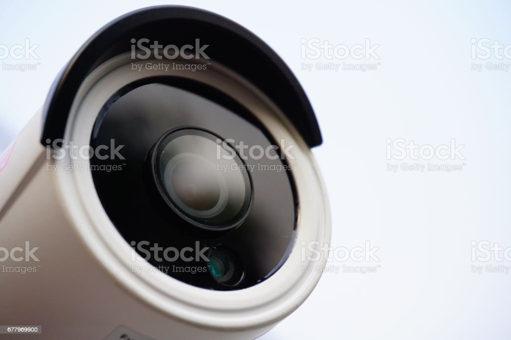CCTV Security Camera 2 megapixel stock photo