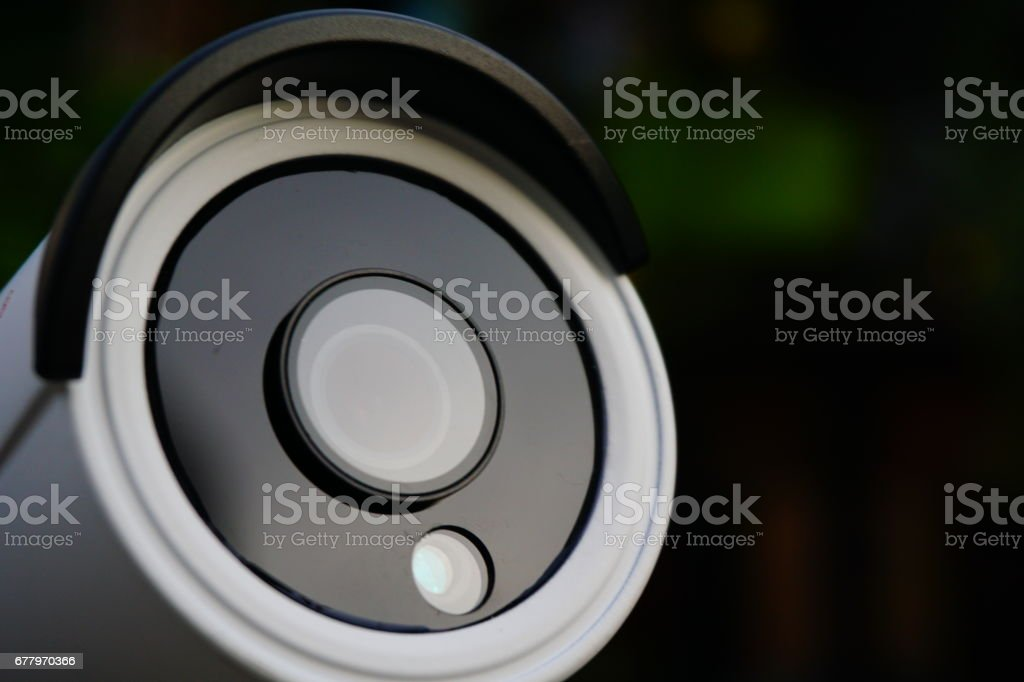CCTV Security Camera 2 megapixel royalty-free stock photo