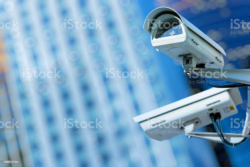 security camera and urban video​​​ foto