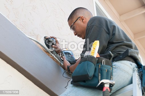istock Security Camera Installation 175397936