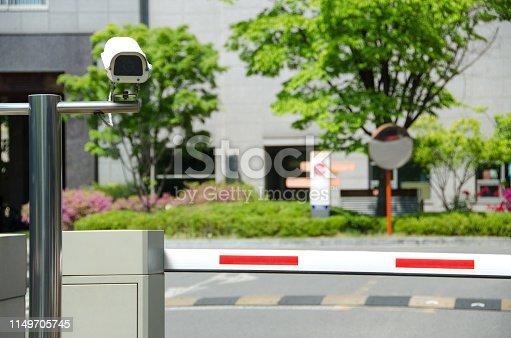 istock Security camera 1149705745