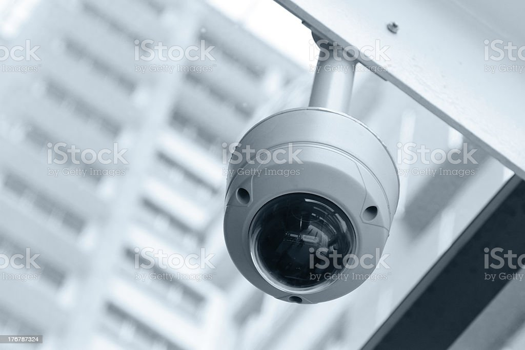 Security camera royalty-free stock photo