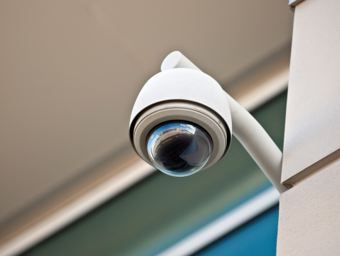 Security Camera Stock Photo - Download Image Now