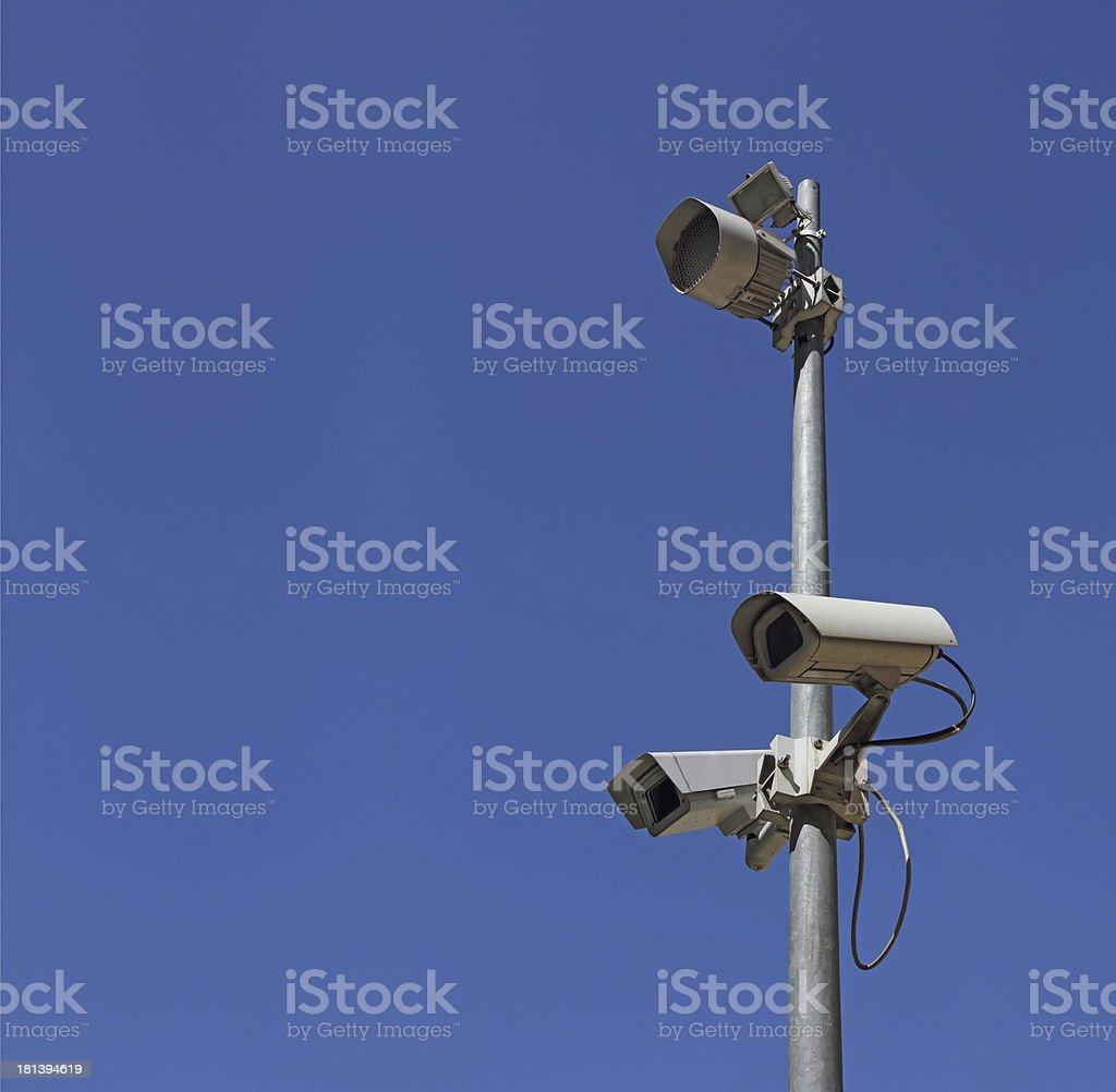 Security Camera royalty-free stock photo