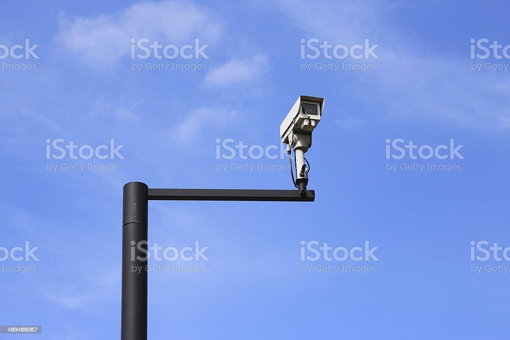 CCTV Security Camera royalty-free stock photo