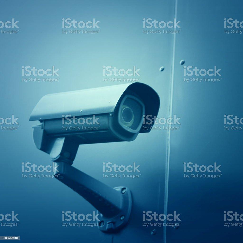 CCTV security camera stock photo