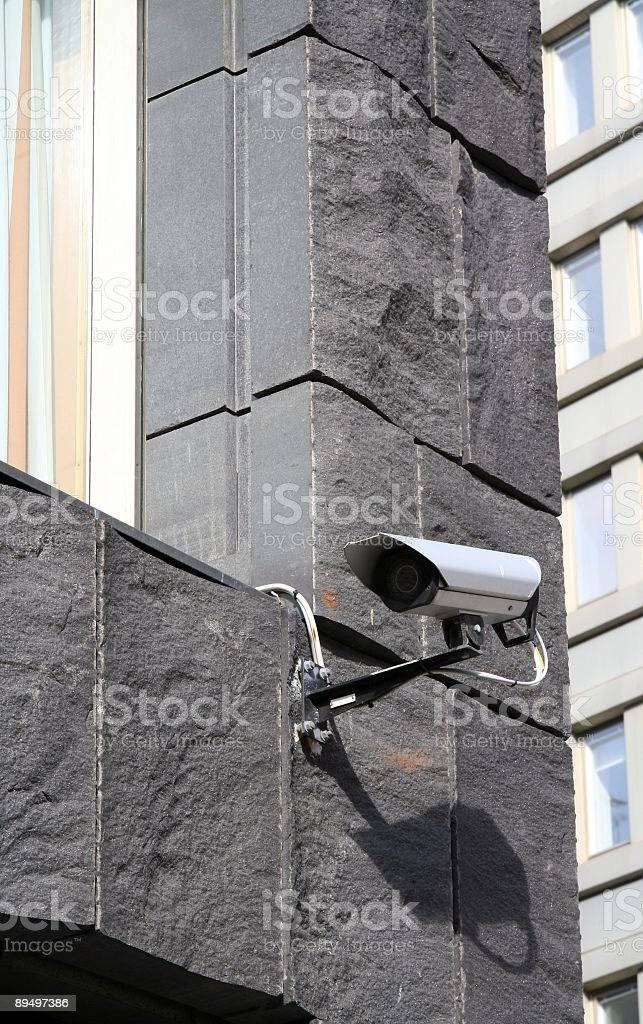 Kamera bezpieczeństwa zbiór zdjęć royalty-free