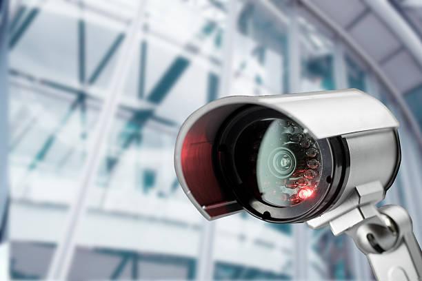 CCTV Kamera Sicherheit im Büro-Gebäude – Foto