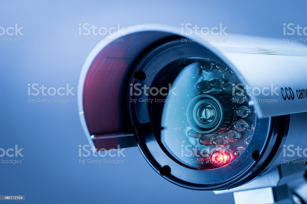 Security CCTV camera in office building​​​ foto