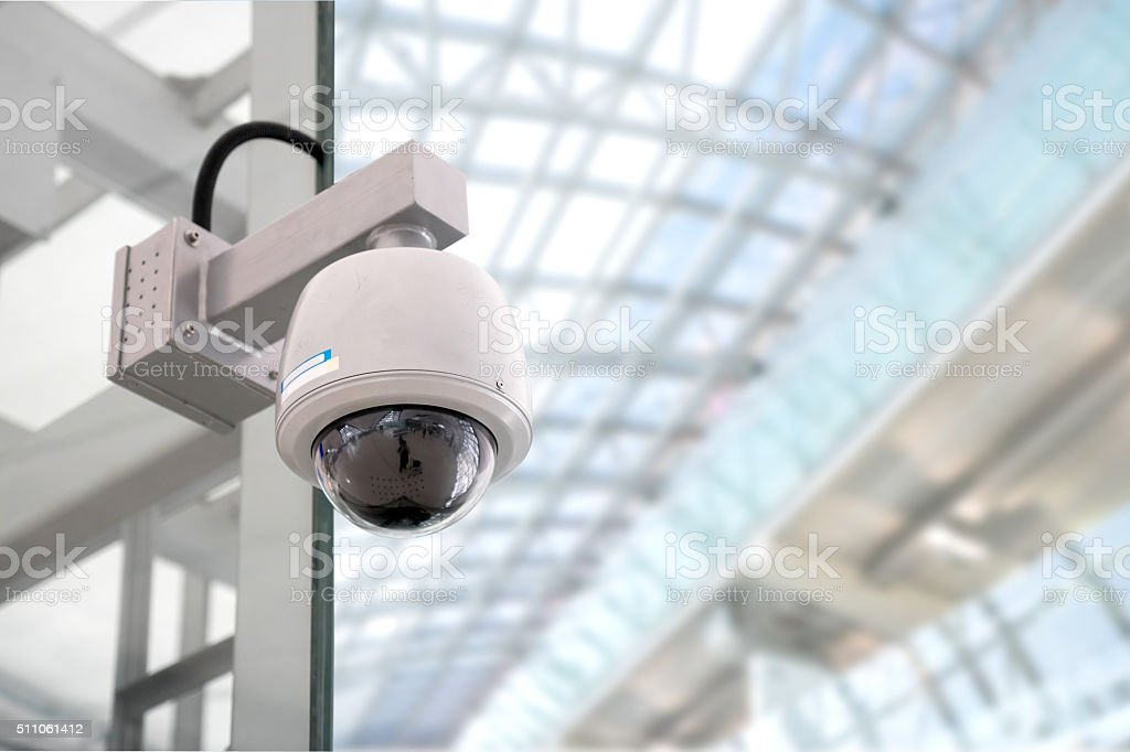 Security CCTV camera​​​ foto
