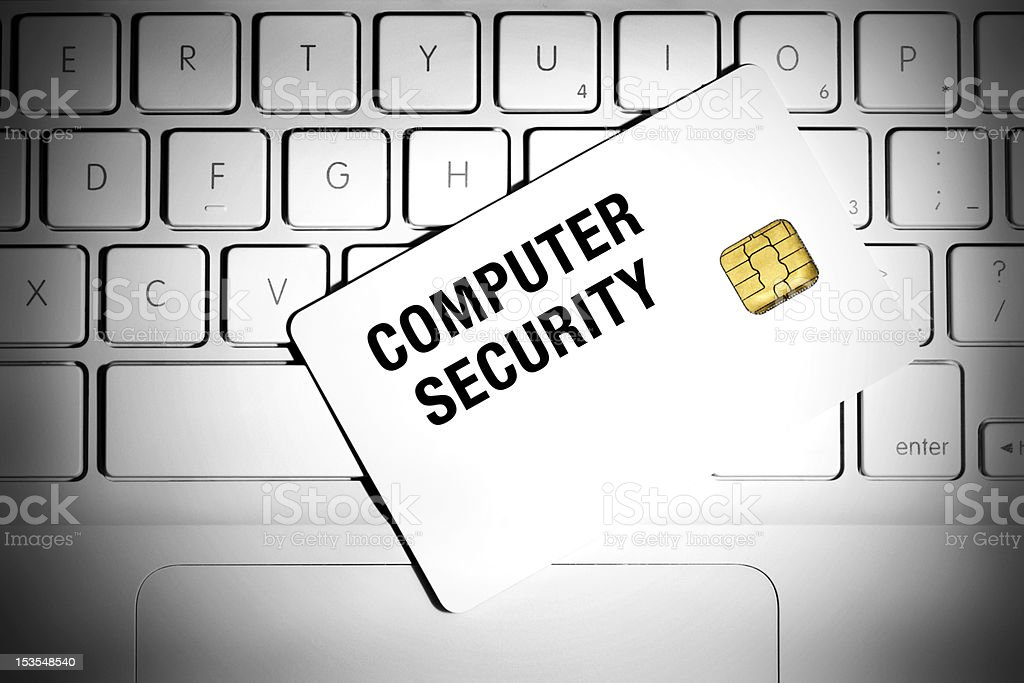 IT security concept. royalty-free stock photo