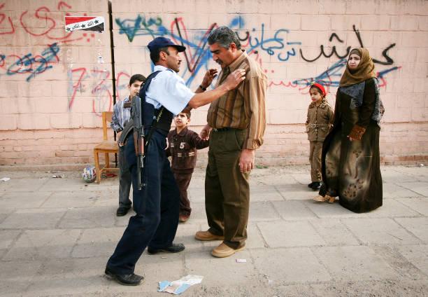 Contrôle de la sécurité en Irak - Photo