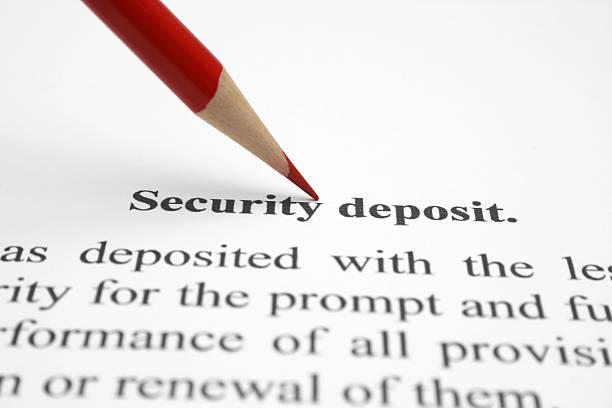 security deposit - bank deposit slip stock pictures, royalty-free photos & images