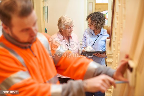 istock security devices for senior woman 508518582