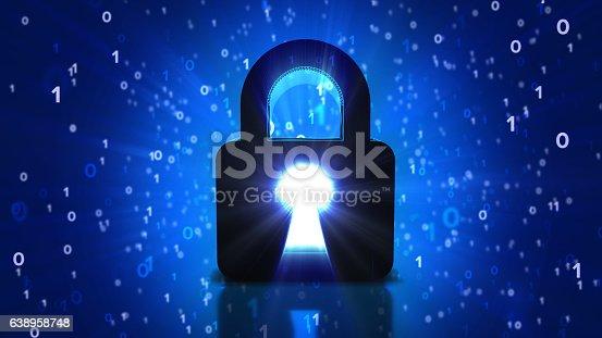 istock Security Digital Image - Three Dimensional 638958748