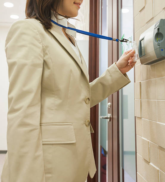Security equipment Business security pass stock pictures, royalty-free photos & images