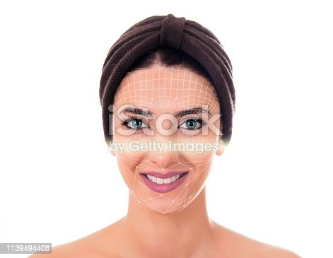 872707982 istock photo Security Face Scan. 1139494408