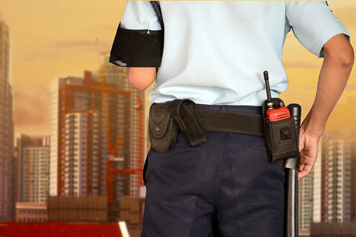 istock Security guard 1125673082