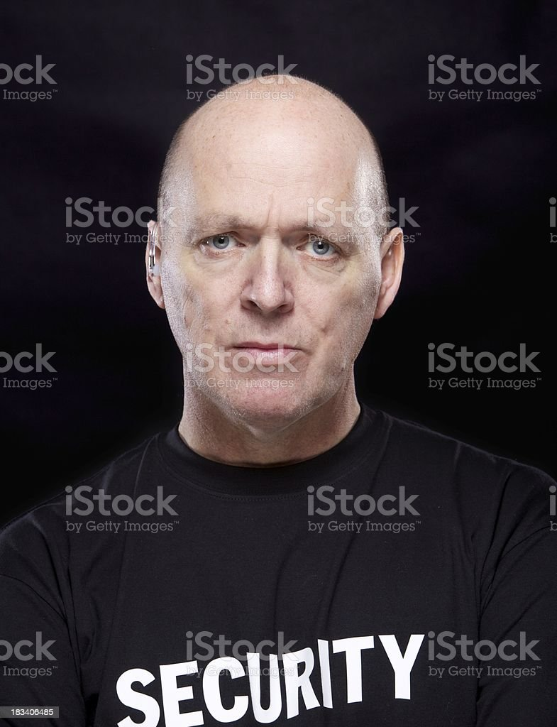 Security Guard... royalty-free stock photo