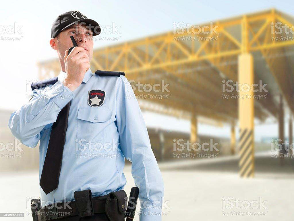Security Guard stock photo