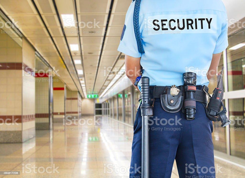 Agent de sécurité - Photo