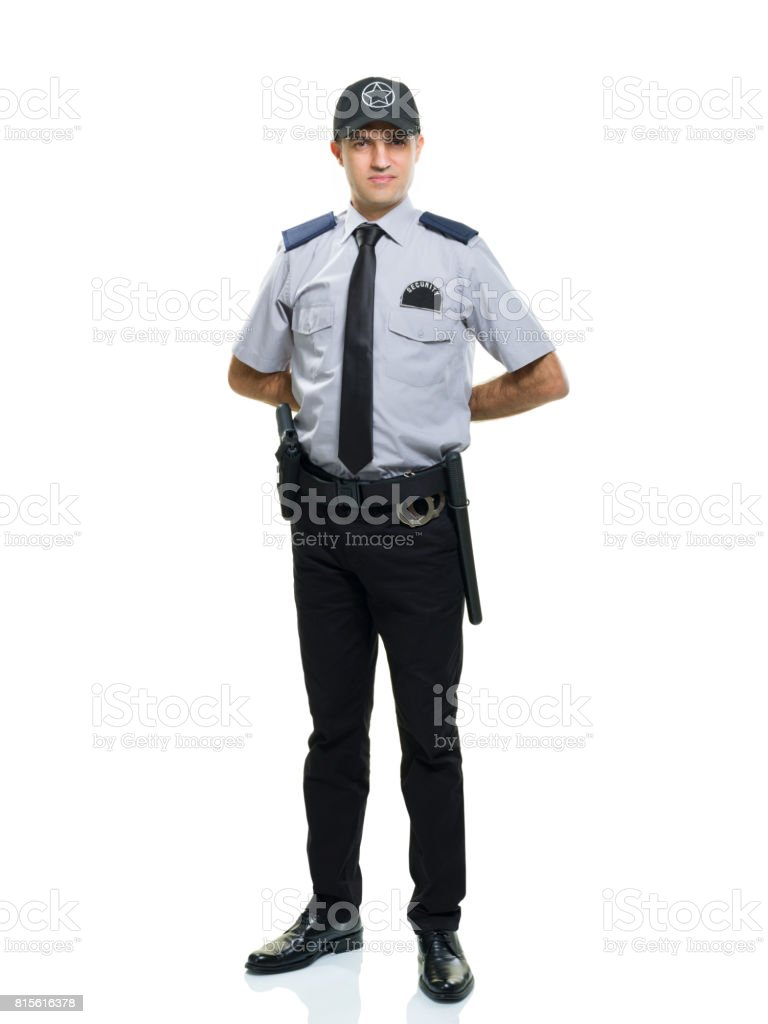 Security Guard Stock Photo - Download Image Now - iStock