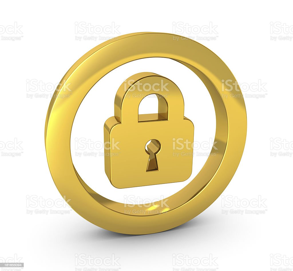 Security Icon royalty-free stock photo