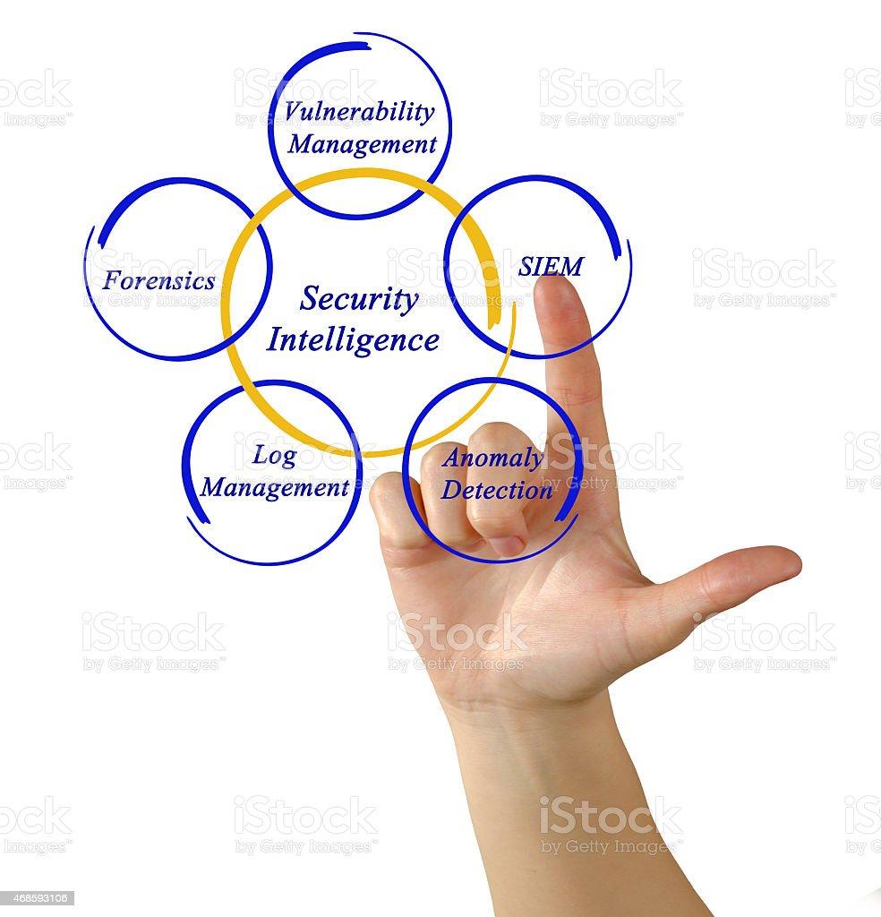 Security Intelligence stock photo