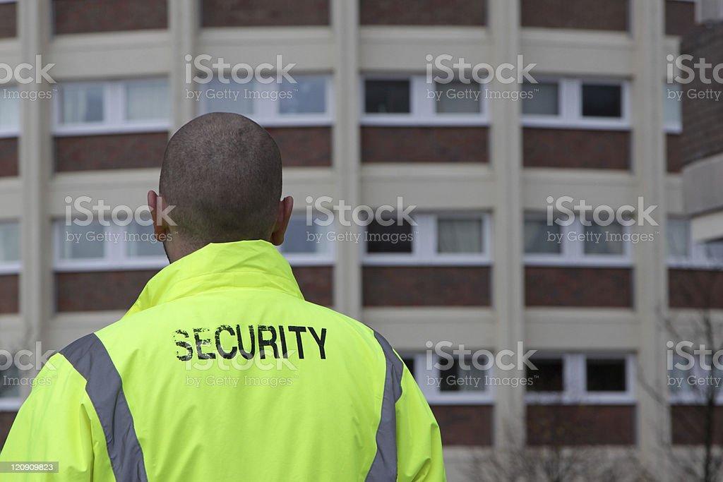 security man royalty-free stock photo
