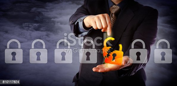 488497362istockphoto Security Manager Identifying Cyber Attack 810117824
