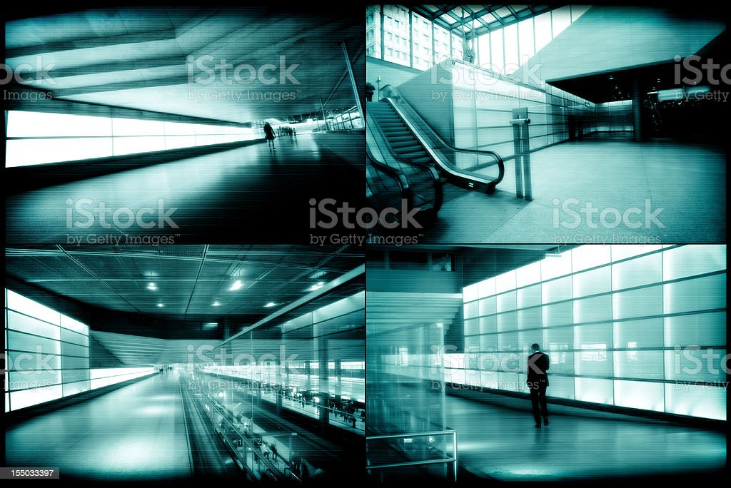 Monitor de segurança - foto de acervo