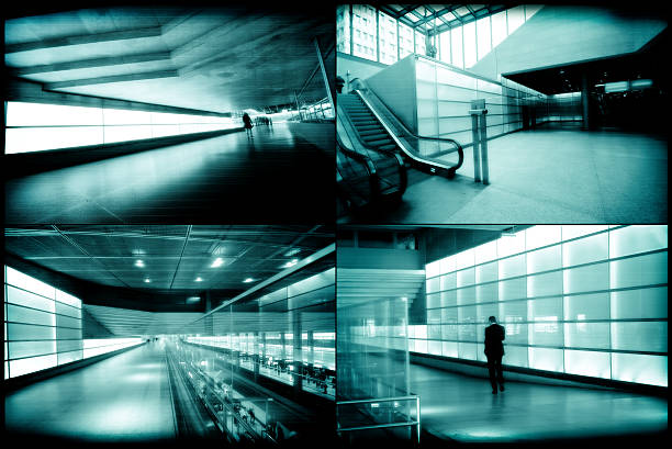 security monitor - big brother orwellian concept stock pictures, royalty-free photos & images